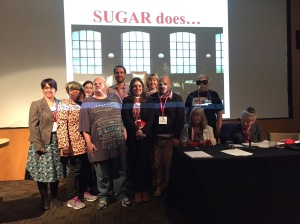SUGAR does Dragons' Den
