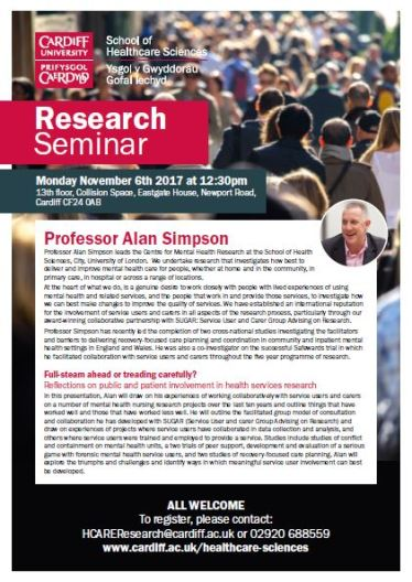 Alan's seminar